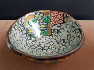 Vintage mini ceramic bowl