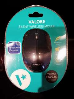 BNIB VALORE Ultra Silent Wireless Mouse