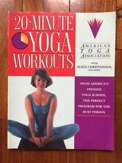 20 Minute Yoga Workouts by the American Yoga Association