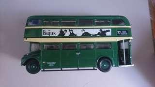 英國 雙層 巴士模型 特別版 the Beatles collection