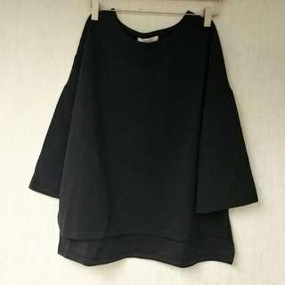喇叭袖濶身上衣大碼 #2bdaysale