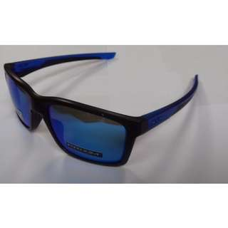 * OAKLEY MAINLINK PRIZM POLARIZED SAPPHIRE FADE COLLECTION OO9264-2557 Sunglasses *