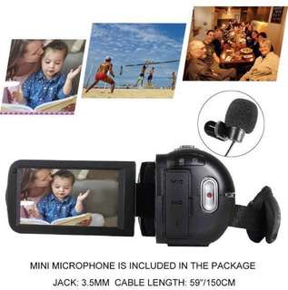 "SEREE HDV-520 Camcorder WIFI External Microphone Jack Input FHD 1080p 24.0MP 3.0"" Screen 16X Digital Zoom Digital Camera Video Recorder"