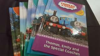 5 Thomas and Friends books