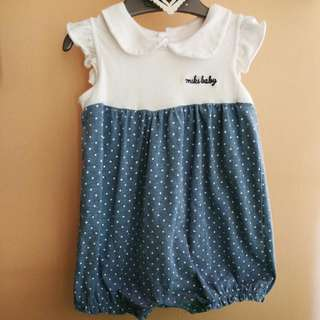 Miki Baby Romper 6-12 Months (include Delivery)