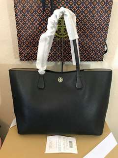 Authentic TORY BURCH BLACK TOTE