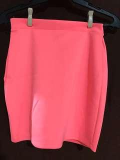 FOREVER21 Neon Pink Skirt