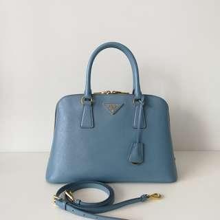 Authentic Prada Saffiano Alma Bag