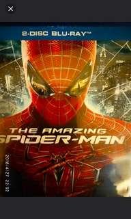 Amazing Spiderman 1 / 2 in Blu ray