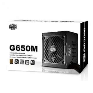 Cooler Master GM Series G650M - Compact 650W 80 PLUS Bronze Modular PSU (6th Generation Skylake Support)