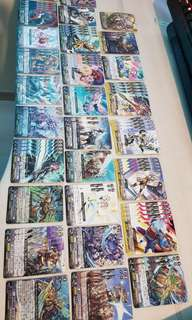 Cardfight vanguard gold paladin(full deck)with extra cards
