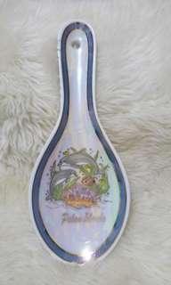 🚚 🌰精緻 彩繪陶瓷湯匙海底世界造型可當湯匙或當室內擺飾 /掛飾