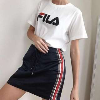 fila oversized boyfriend t-shirt