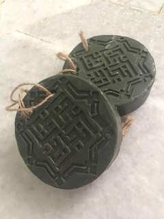 Natural, chemical free, perfume-free, olive oil and laurel bay oil based Aleppo soap from Syria