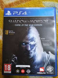 SHADOW OF MORDOR G.O.T.Y