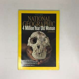 4 Million Year Old Woman   National Geographic   Issue July 2010