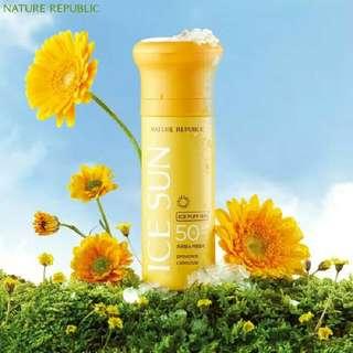 Ice Puff Sun Provence Calendula SPF 50+ PA +++