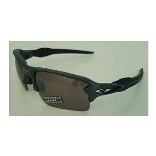 Oakley Flak 2.0 XL Prizm Sunglasses OO9188-60 Steel/Prizm Daily Polarized NEW