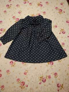 Baby Gap denim dress for toddler