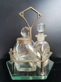 Vintage Glass Bottles set