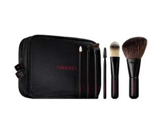 Authentic Chanel Brush Set