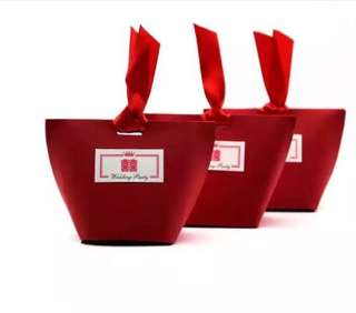Lovely wedding double-Happiness 双喜 favor boxes