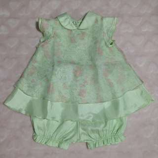 George Acorn Green Floral Duo