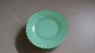 🔊🔊🔊Lelong Raya 10 retro green plates