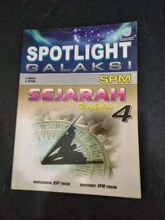SPM Spotlight Sejarah Form 4