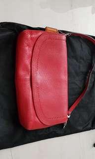 Red Coach Sling Bag