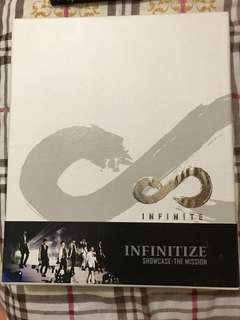 Infinite - INFINITIZE Showcase DVD+寫珍集+7張post card (團體及個人)