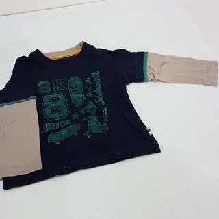 Mothercare Longsleeves Jersey Shirt