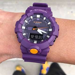 GA-800 VIOLET GSHOCK WATCH
