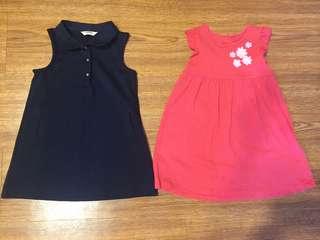 Poney & Miki Dresses (18-24m)