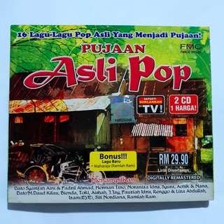 Pujaan Asli Pop CD