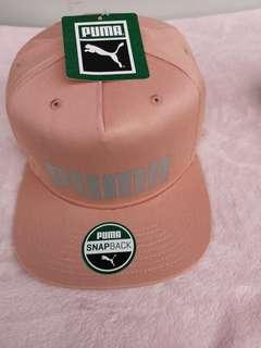 Puma Classic Cap, Peach Beige Silver