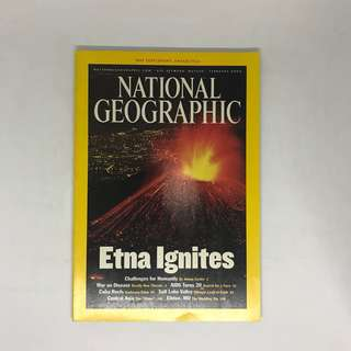Etna Ignites | National Geographic | Issue February 2002