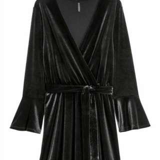 Hm velvet dress