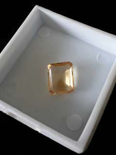Loose Yellow Topaz Stone