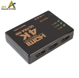 3 Ways HDMI Splitter Switch