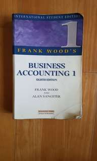 Business accounting 1 - 8th edition