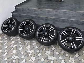 BMW M4 19' Rim with tyres