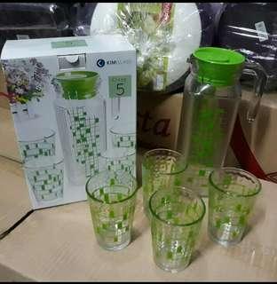 1 set gelas