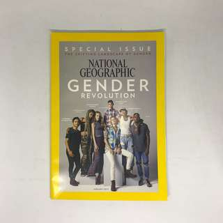 Gender Revolution | National Geographic Special Issue | The Shifting Landscape of Gender | Issue January 2017
