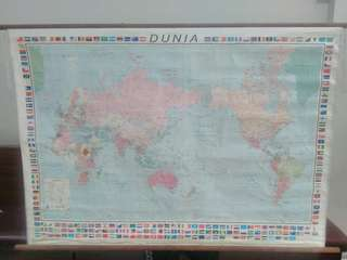 Peta Dunia & Peta Indonesia