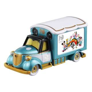 """Japan Disney Motors Special Edition """"10th Anniversary Edition"""" Dream Star III Mickey Mouse Tomica Toy Car Tomicar set"""