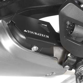 Touratech Singapore BMW R1200GS LC Exhaust Flap Guard Black ! Ready Stock ! Promo ! Do Not PM ! Kindly Call Us ! Kindly Follow Us !