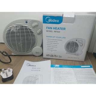 NEW Midea 美的 暖風機 FAN HEATER NFA20