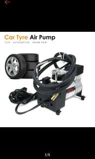 FREE POS Ready Stock Powerful Inflating Vehicle Car Motor Tyre Inflator Air Pump