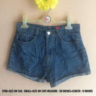 3700 DENIM SHORTS